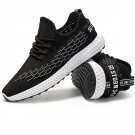 Teenage Sport Shoes Breathable Superfiber Trainers Fashion Men Outdoor Street Sneakers
