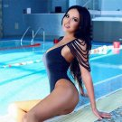 Sexy One Piece Bikini Bathing Costume Brazilian Bodysuits Tassel Women Monokini Custom Swimwear