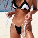 American Lady Swimming Costume Sexy Triangle Swimwear Halter Female Bathing Suits