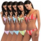 Women Bikinis Spaghetti Straps Beach Wear Fashion Swimwear