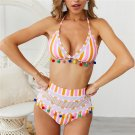 Women Female Tassel Beachwear Trendy Brazilian Fishnet Swimming Costumes