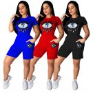 Women Trendy Clothing Female Hip Pop Tops Fashion Ladies Summer Tees with Pants