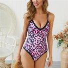 Women Vintage Leopard Beach Wear Python Retro Bathing Suits Animal Monokini
