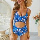 Fashion Women Monokini Retro Beach Wear Beach Vacation Outfits One Piece Bikini