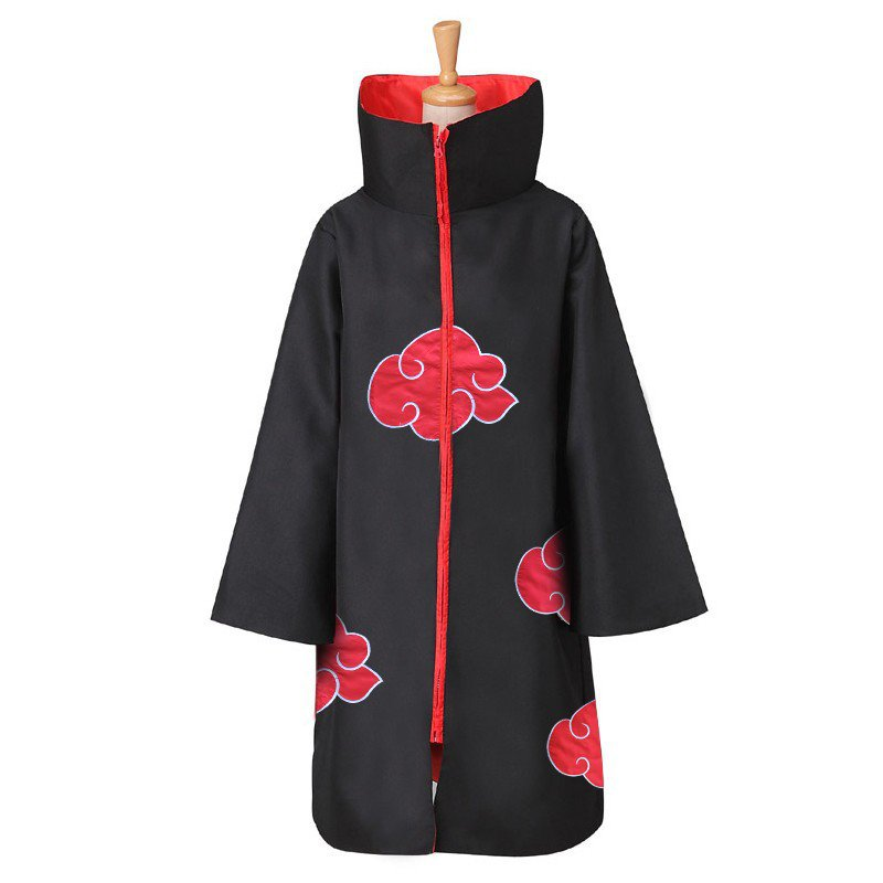 Plus Size XXL Uzumaki Naruto Cloak COS Outfits Japanese Anime Costumes NARUTO Coat
