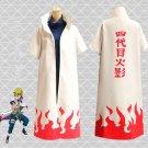 Japanese Anime Hatake Kakashi Cloak Yondaime Hokage Theme Costume