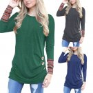 Autumn Women T-shirts Crew Neck Plus Size Trendy Clothing 5XL Full Sleeve Streetwear