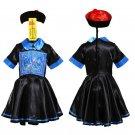 Women Devil Halloween Theme Costume Horrible Hopping Vampire Uniform