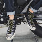 Male Ankle Boot Canvas Shoes Men Fall Fashion Denim Obsolete Plimsolls Casual Board Shoes