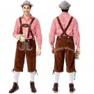 Classic Male Hansel Oktoberfest Costume Mardi Gras Cosplay Outfits Germany Carnival Theme Costume