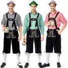 Plus Size XXL Men Bavarian Beer Costume Germany Carnival Theme Costumes Hansel Oktoberfest Overalls