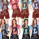 Oktoberfest Theme Costume Hansel Short Sleeve Shirts Women Germany Carnival Beer Girl Costume