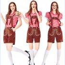 Lady Alps Bavarian Beer Overalls Mardi Gras Muenchner Cosplay Apparel Oktoberfest Costume