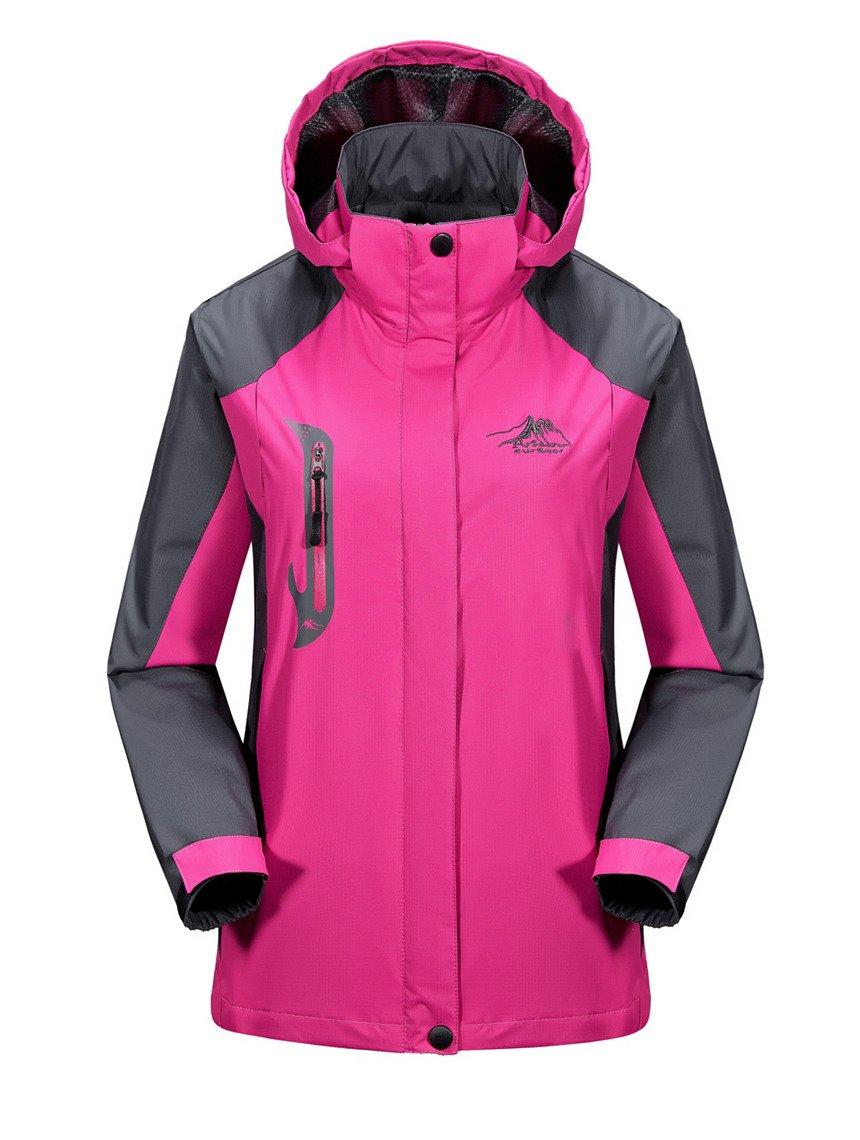 XXL Size Autumn Lady Outdoor Sport Windbreaker Thin Style Waterproof Hiking Jacket