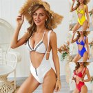 Lady Two-piece Separates Slim Water Sports Wear Female Swimming Overalls