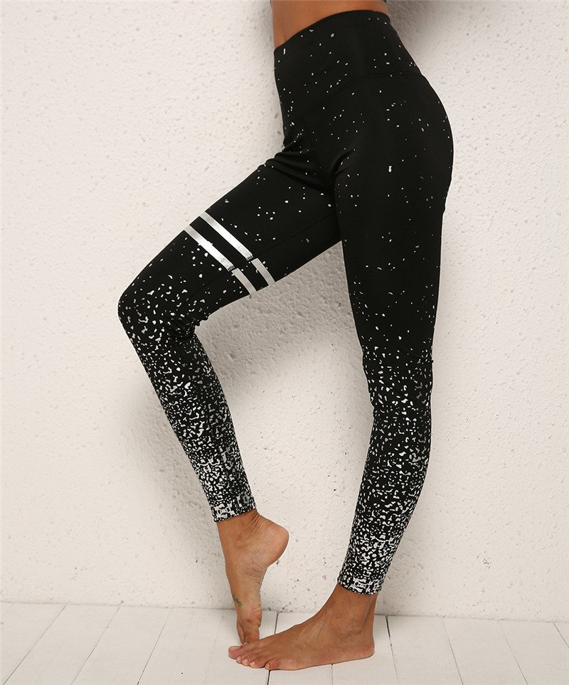 Women High Waist Activewear Female Work Out Trousers Skinny Fitness Pants