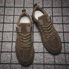 Men Flat Rope Soled Shoes Solid Color Autumn Rugged Footwear
