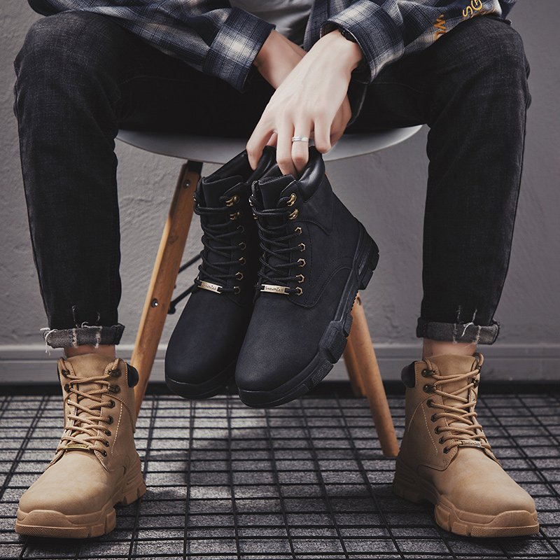 Fall Ankle Boots Board Shoes Fashion American Skate Sneakers