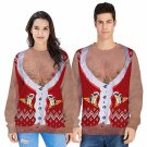 Ladies Christmas Hoodies Men Coat Unisex Xmas Sweatshirts Women Santa Clothing
