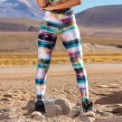 Galaxy Printing Gym Clothing High Waist Exercise Wear Lift Butts Sport Wear