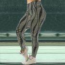 High Waist Activewear Lift Butts Fitness Pants Lady Stripe Body Mechanics Clothing