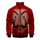 Money Heist Hoodies Unisex Halloween Sweatshirts Carnival Clothing Men La casa de papel Coat