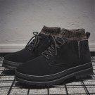 Teen Winter Martin Boots Men Ankle Boots Footwear Fall Faux Fur Board Shoes