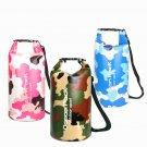 30L Camouflage Duffel Bags Unisex Beach Storage Sport Dry Storage