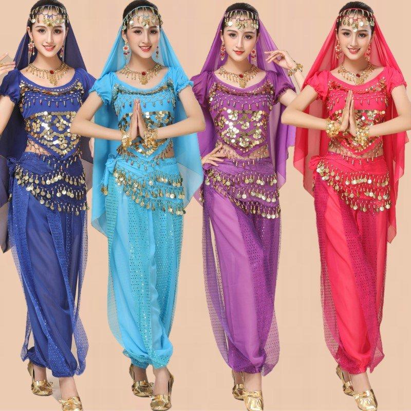 Middle Eastern Arab Girl Burka Halloween Belly Dancing Costume Raqs Sharqi Uniform