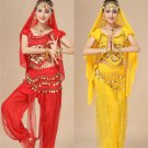 Raqs Sharqi Costume Middle Eastern Arab Girl Burka Halloween Outfits Belly Dancing Uniform