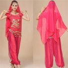 Raqs Sharqi Sport Clothing Middle Eastern Arab Girl Burka Belly Dance Uniform Fitness Wear