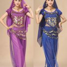 Belly Dancing Clothing Raqs Sharqi Fitness Wear Middle Eastern Costume Arab Girl Burka