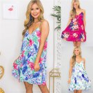 Plus Size Clubwear 2XL Fashion Boho Dress Backless Trendy Clothing Day Dresses