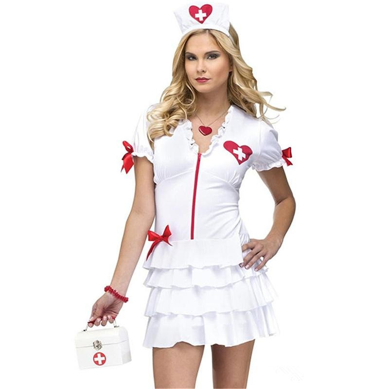 Sexy Nurse Costume Night Bar Clothing Carnival Doctor Cosplay Outfits