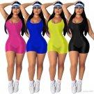 Summer Workout Jumpsuits Fashion Fitness Bodysuits Women Plus Size Sport Rompers