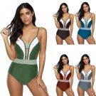 Spaghetti Strap One Piece Swimwear Summer Women Beachwear Sexy Super Size Swimsuits