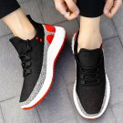 Teenager Slip-on Outdoor Footwear Men Fashion Summer Fly Woven Shoes