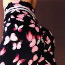 Female Exercise Capris Sexy Bubble Butt Fitness Pant Women High Waist Active Wear