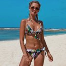 American Lady Swimming Costume Female Bathing Suits Sexy Tripical Swimwear
