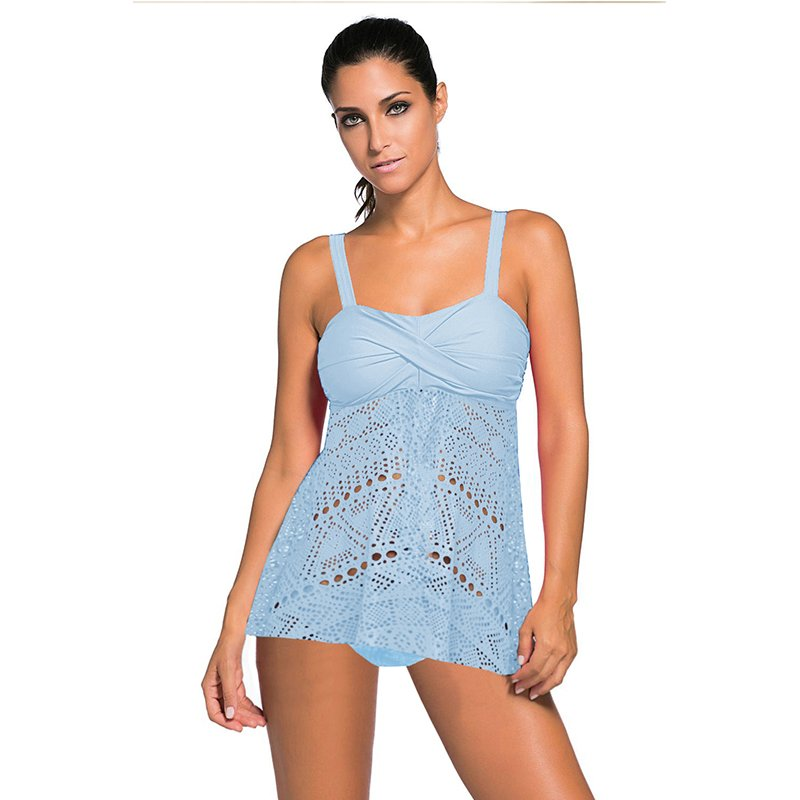 Sexy Spaghetti Strap Beach Dresses Plus Size 2XL Mesh Bathing Suit Summer Female Cover-ups
