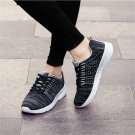 Knit Oversize Sport Shoes MD Sole Couple Running Shoes Mesh Sneakers Lover Winter Ourdoor Shoes