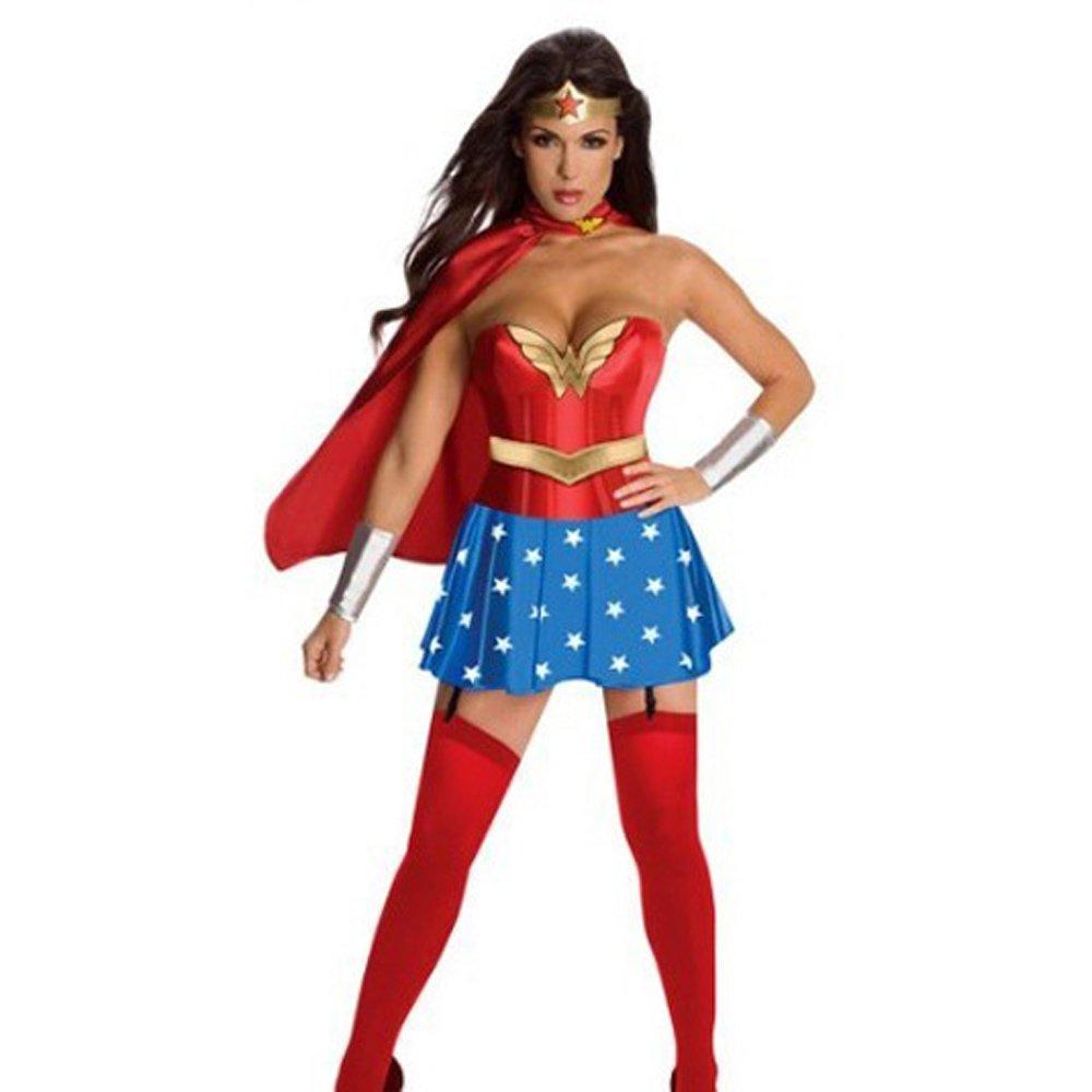 Sexy Party Carnival Hero COS Uniform Cosplay Heroine Costume