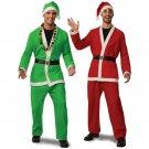 Sexy Santa Claus Uniform Men Christmas Costume Xmas Clothing