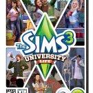 The Sims 3: University Life Expansion Pack Windows PC/Mac Game Download Origin CD-Key Global