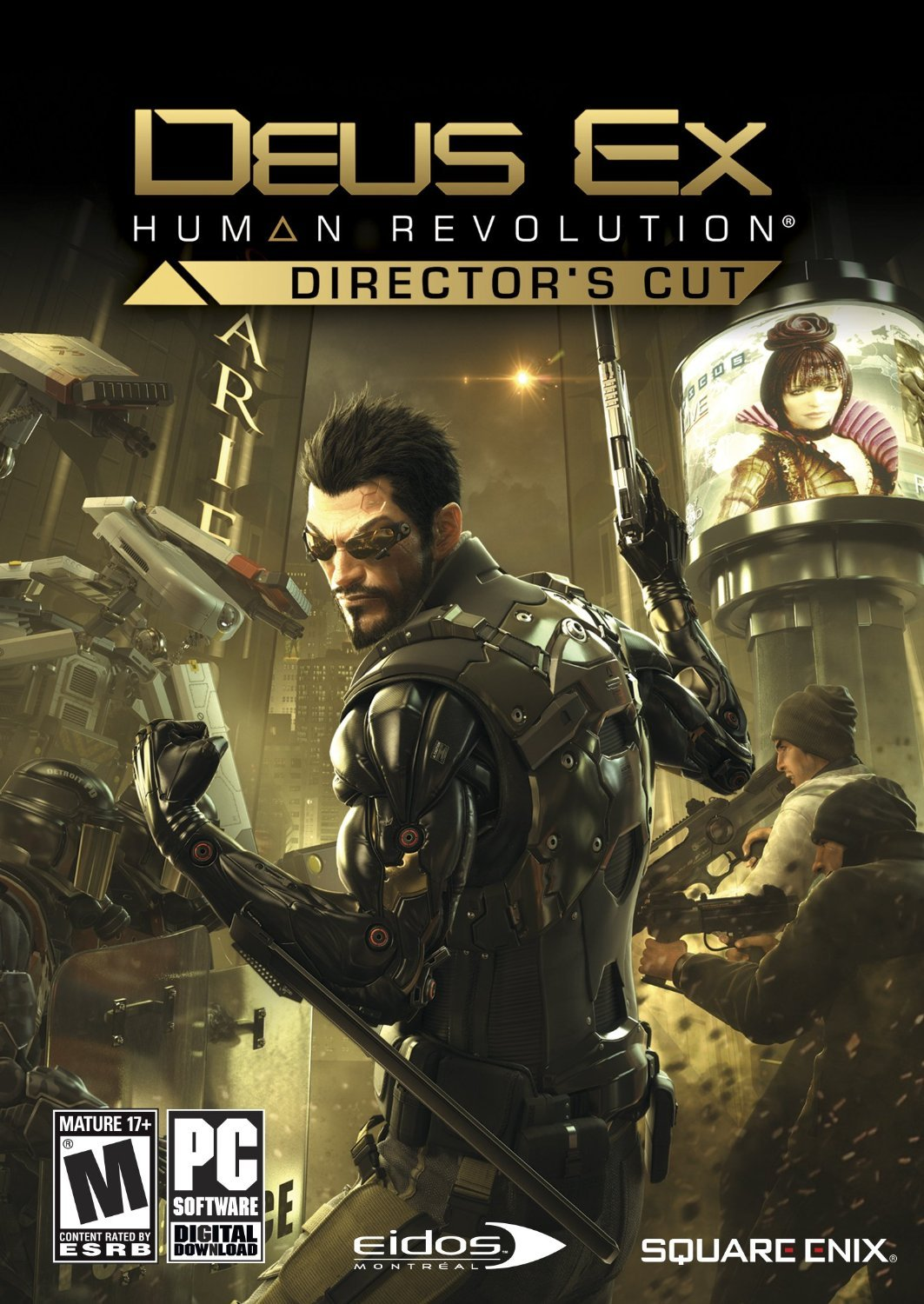 Deus Ex Human Revolution Not Your Personal Hookup Service