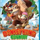 Donkey Kong Country Tropical Freeze Wii U Physical Game Disc US