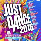 Just Dance 2016 Wii U Physical Game Disc US