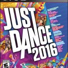 Just Dance 2016 PS3 Physical Game Disc US