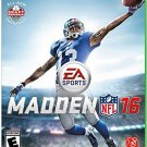 Madden NFL 16 Xbox One Physical Game Disc US