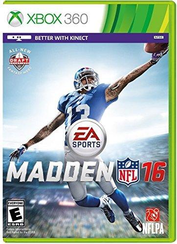 Madden NFL 16 Xbox 360 Physical Game Disc US